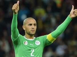 Bougherra jugará por primera vez en Grecia, el que será su sexto país como profesional. EFE/EPA