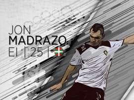 Madrazo, nuevo jugador del Burgos. Twitter/Burgos_CF