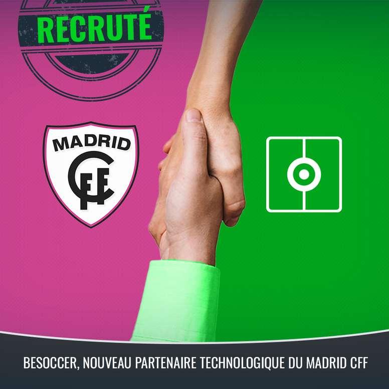 L'équipe de football féminin de Madrid, une de plus dans la famille BeSoccer. BeSoccer