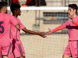 El Real Madrid Castilla cierra la pretemporada con victoria. RealMadrid