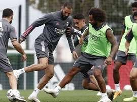 El Real Madrid se ejercitó con normalidad este viernes en Valdebebas. RealMadrid