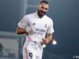 Benzema, en los números de su temporada más goleadora. RealMadrid