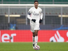 Varane destacó el trabajo del equipo ante el Inter. RealMadrid
