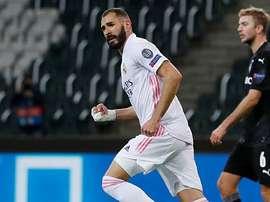 Karim, un seguro de vida en el equipo blanco. RealMadrid