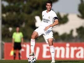 El Castilla se mide a un rival de su grupo en un amistoso. RealMadrid