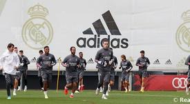 El Madrid encara la visita al 'Gladbach. RealMadrid