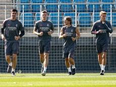 El Madrid no pudo pasar del 0-0 ante a Real Sociedad. RealMadrid