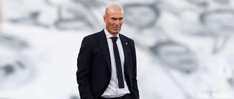 Zidane llegó a los 150 partidos de Liga como técnico del Madrid. Twitter/RealMadrid