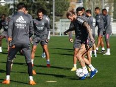 El Madrid recibe la visita de la SD Huesca. RealMadrid