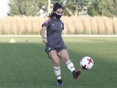 El fútbol femenino regresa poco a poco. RealMadrid