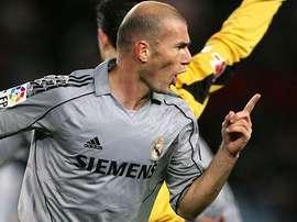 Zidane firmó 49 goles con el Madrid. RealMadrid