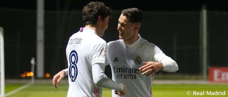 El Castilla quiere seguir la buena línea ante el Atlético Baleares. RealMadrid