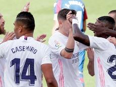 El Madrid todavía no conoce la derrota en la presente Liga. RealMadrid