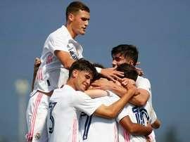 El Castilla juega contra el Rayo Majadahonda. RealMadrid