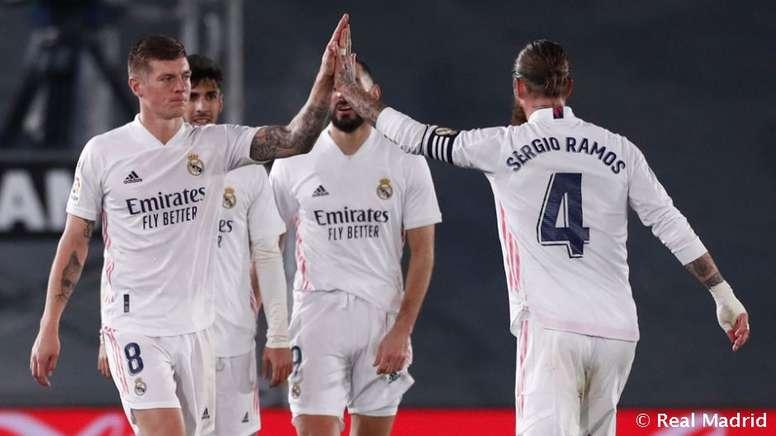 El Madrid se enfrenta al Athletic en la Supercopa. RealMadrid