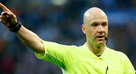 Anthony Taylor, árbitro del Inter de Milán-Real Madrid. RealMadrid