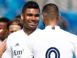 El Madrid, a por la primera victoria. RealMadrid