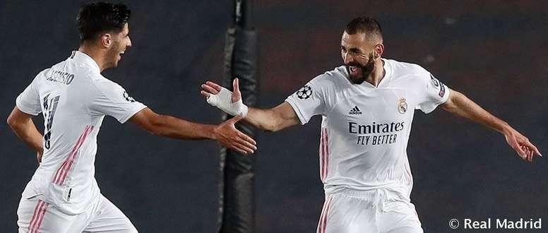 El equipo blanco recupera a Karim. RealMadrid