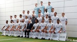 El Madrid se hizo este jueves la foto oficial. RealMadrid