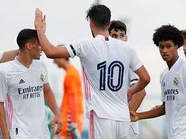 El Castilla se estrena con una sonrisa en la pretemporada. RealMadrid