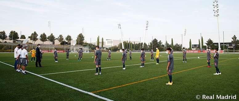 Los alevines del Madrid arrancaron la pretemporada. RealMadrid