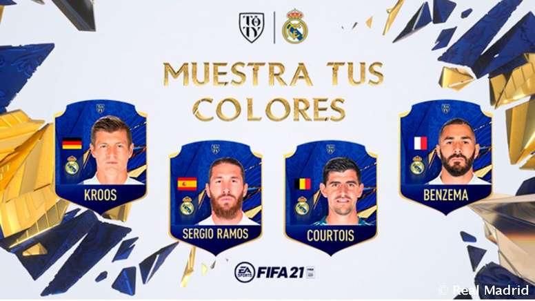 Cuatro jugadores del Madrid, candidatos al mejor once del FIFA. RealMadrid
