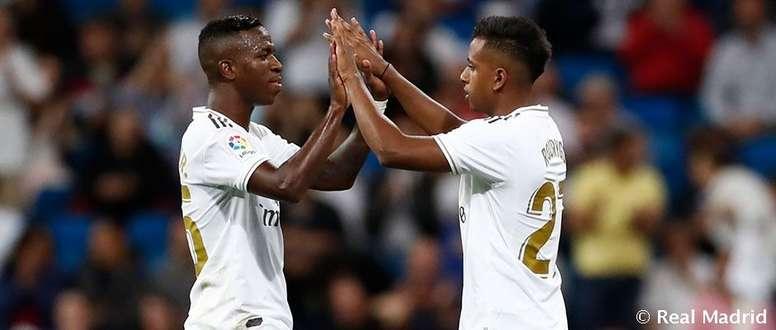 El Madrid está de enhorabuena: Vinicius y Rodrygo optan al Golden Boy. RealMadrid