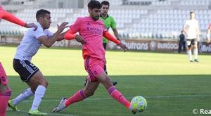 El Castilla empató sin goles ante el Burgos. RealMadrid
