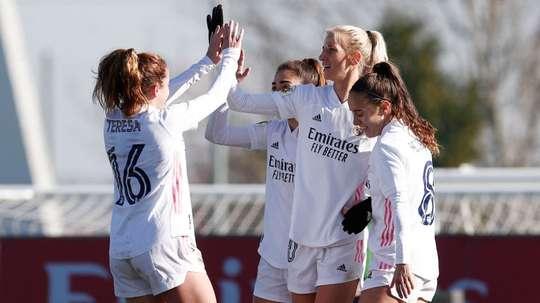 El Madrid, a por su tercer victoria seguida ante el Logroño. RealMadrid