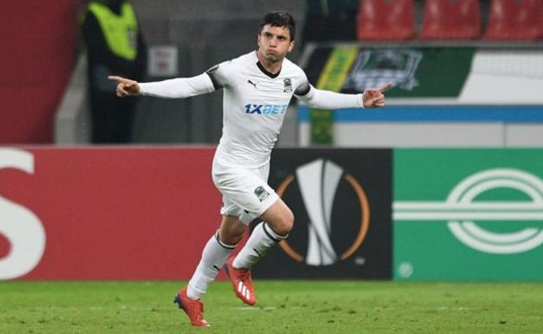 El Krasnodar se impuso al Rubin Kazán. EFE
