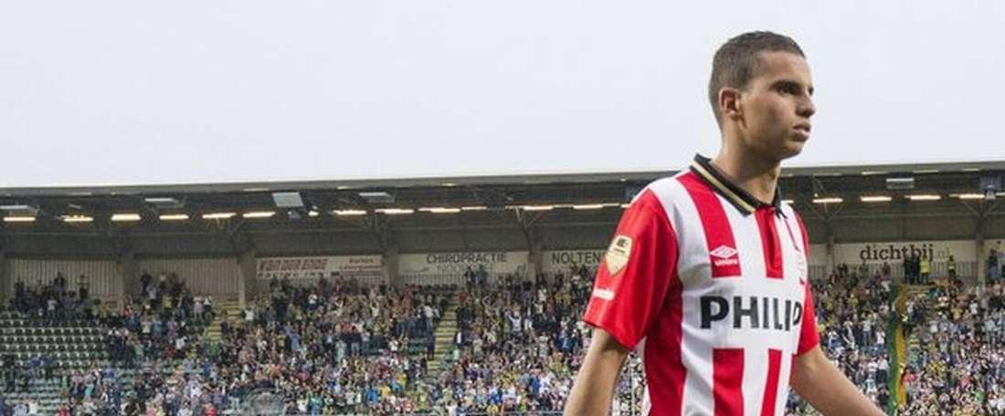 Maher alinha, por enquanto, no Osmanlispor, da liga turca, cedido pelo PSV (Holanda). Twitter