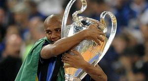 Campeão da Champions League, Maicon viveu grande fase com a Inter de Milão. AFP