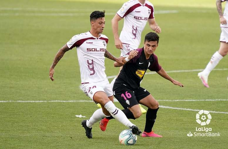Manu García espera a un buen Albacete. LaLiga
