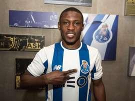 Waris, o novo jogador do FC Porto. Twitter/FCP
