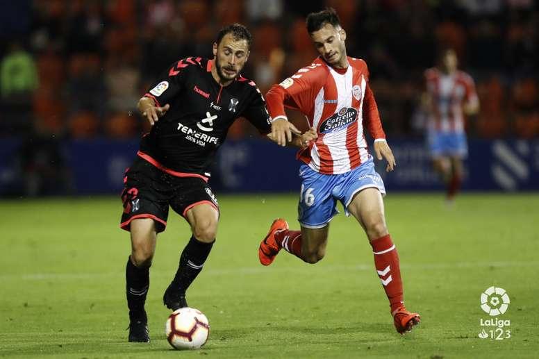 El Tenerife espera poder contar con Malbasic en el próximo partido. LaLiga