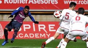 Un partido de sanción para los dos expulsados en Copa. EFE