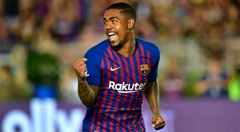 Malcom has hardly figured for Barcelona. AFP