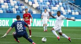 Rigoni deja al Zenit a un paso del título. Twitter/es_fczenit