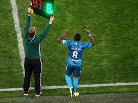 Malcom sofreu racismo em sua estreia na Rússia. Twitter/Zenit