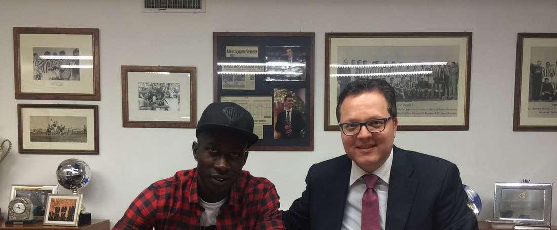 Mamadou Coulibaly ya es jugador del Udiense. UdineseCalcio