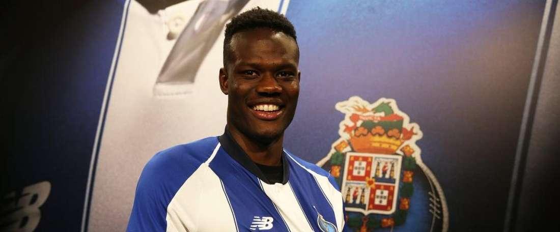 Loum jouera à Porto. Twitter/FCPorto