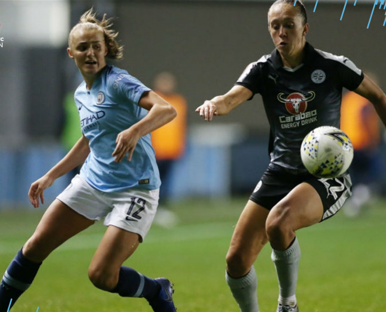 Manchester City women v Reading Women was marred by controversy. MANCITY