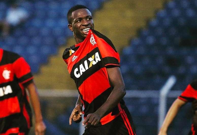 Vinicius Junior est lié avec le Real Madrid. ViniciusOficial