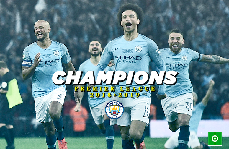 Man City were crowned champions of the Premier League in today's victory against Brighton. BESOCCER
