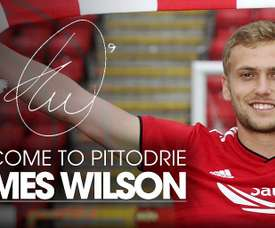 Wilson will spend the 2018/19 campaign at Pittodrie. AberdeenFC