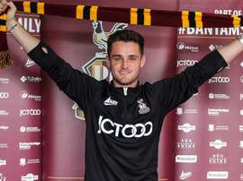 Riley has joined Bradford on a permanent deal. BradfordCityFC