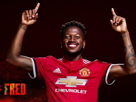 Fred is officially a United player. Twitter/MNU