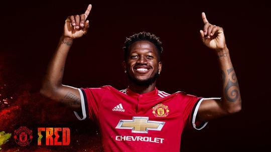 Fred ya es jugador del United. MNU