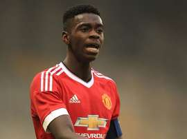 Manchester United youngster Axel Tuanzebe. Twitter
