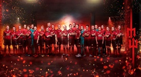 Manchester United Women will compete in the FA Women's Championship. Twitter/ManUtdWomen